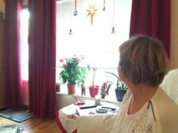 Karin i Drammen ble varslet for sent om feilen OUS hadde gjort.<br>(Foto: Anne Lise Stranden/forskning.no)