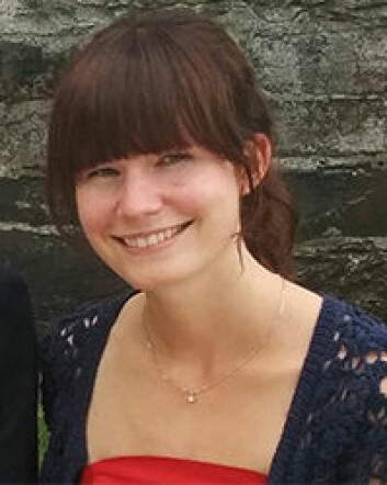 Anja Marken, Masterstudent ved Senter for utvikling og miljø, UiO. (Foto: UiO)