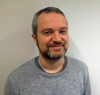 Johan Hjulstad har jobbet med tegnspråkopplæring i Statped. Nå er han studieleder ved HiOA. (Foto: Hilde Thomassen)