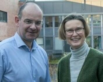 Professorene Knut Dørum og Helje Kringlebotn Sødal ved Universitetet i Agder har redigert en ny bok om Hans Nielsen Hauge og haugianerne. (Foto: Atle Christiansen)