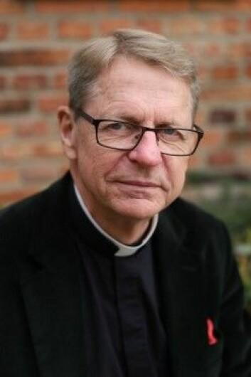 Håkan E Wilhelmsson, tidligere domprost i Lund og kirkens representant i prosjektet. (Foto: Lunds Domkirke)