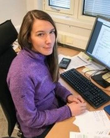 Forsker Sigrid Brækkan mener det er urovekkende at forekomsten av blodpropp øker. (Foto: Dana Meknas)