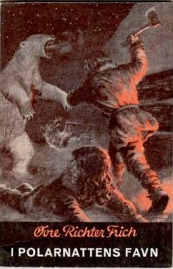 I Øvre Richter Frichs roman I Polarnattens Favn dukker en blodtørstig isbjørn opp på julaften. (Foto: Stig Brøndbo)