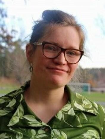 Aase Kristine Lundberg har studert likestillingen i norsk utmarksforvaltning. (Foto: Mari Lilleslåtten)