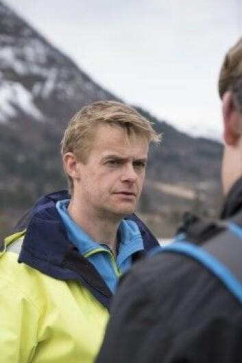 Hans Petter Eidseflot er driftsleder i Mørenett. (Foto: NIBIO)
