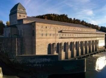 """Solbergfoss kraftverk er ett av mange som sikrer Norge en av de grønneste strømforsyningene i verden. (Foto: Atluxity, <a href=""""https://creativecommons.org/licenses/by-sa/4.0/deed.en"""">CC-BY-SA 4.0</a>)"""