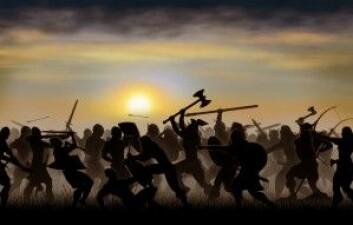 Vikingene var dyktige krigere. (Foto: Patalakha Sergii / Shutterstock / NTB scanpix)