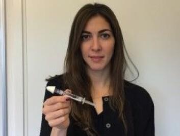 – Rask tilgang på nalokson er viktig for å avverge at personen dør av oksygenmangel, sier forsker Desiree Madah-Amiri. (Foto: Åsmund H. Eikenes / Framtida.no)