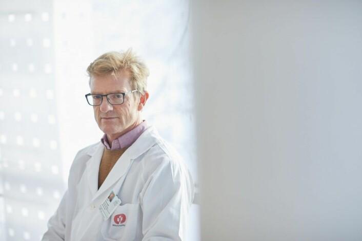 Det er synd at pasienter og forskere har brukt tid og ressurser for å få fram data som bare blir liggende i en skuff, mener Kjetil Retterstøl. (Foto: Erik Norrud)