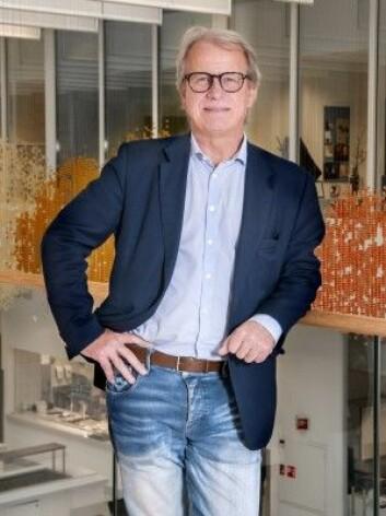 Professor Håvard E. Danielsen får benytte Håkon Wæhres pasientdata i forskningsprosjektet DoMore! (Foto: OUS)