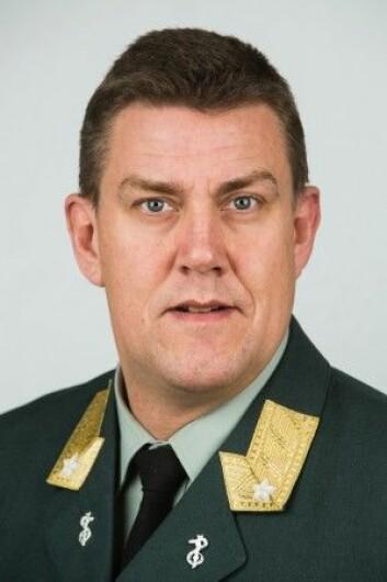 Henning A. Frantzen i Forsvarsdepartementet sier at det Heier hevder å ha opplevd, ikke er Forsvarsdepartementet offisielle politikk. (Foto: Forsvarsdepartementet)