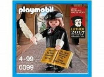 Da den tyske leketøysprodusenten Playmobil lagde en figur av Martin Luther med en penn og Bibelen i hendene, ble det Playmobils raskest solgte leke noensinne.