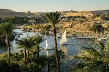 Nilen er den viktigste kilden til vann i Egypt og har vært avgjørende for landbruket siden oldtiden. (Foto: Marcel Bakker / Shutterstock / NTB scanpix)