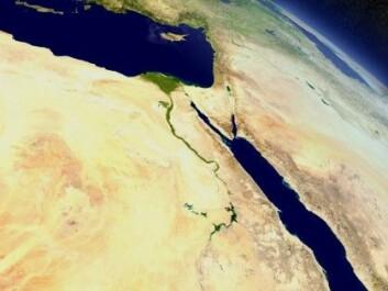 Nilen flyter fra det etiopiske høylandet i sør gjennom Egypt og munner ut i Middelhavet i nord. (Foto: Harvepino / Shutterstock / NTB scanpix)