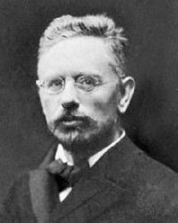 Otto Jespersen, fotografert i 1915. (Foto: Ukj/Wikipedia)