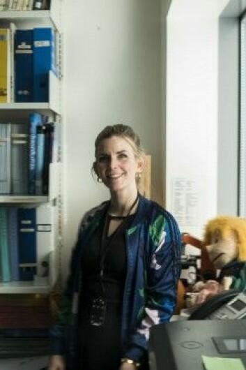 Musikkterapeut Monika Overå. (Foto: David Engmo)