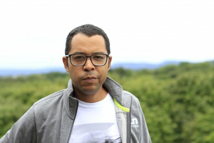 Rengifo Ortega ved Norges vassdrags- og energidirektorat. (Foto: NVE)