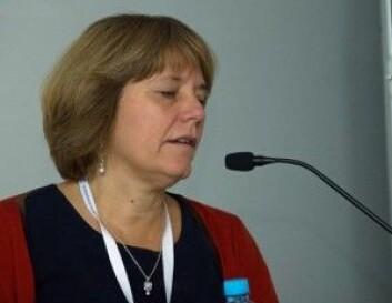 Isabelle Arnulf forteller om paret som kom for å få råd om de burde kjøpe et elektrosjokkvåpen for å hindre mannen i å være voldelig i søvne. (Foto: Georg Mathisen)