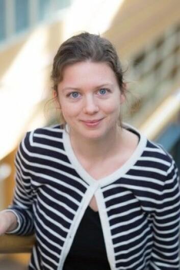 Stipendiat Nora E. H. Mathé ved Institutt for lærerutdanning og skoleforskning på Universitetet i Oslo. (Foto: UiO)
