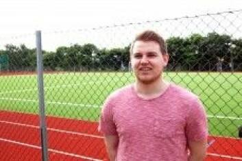 Student Anders Holen. (Foto: UiS)