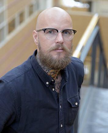 Terje Ulv Throndsen er tidligere masterstudent ved UiO, og nå vitenskapelig assistent ved ISP. (Foto: Shane Colvin / UiO)
