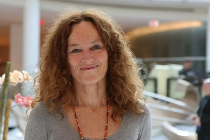 Camilla Stoltenberg er direktør for Folkehelseinstituttet. De skal huse en internasjonal koalisjon som skal jobbe for å bedre pandemiberedskapen. (Foto: Ingrid Spilde)