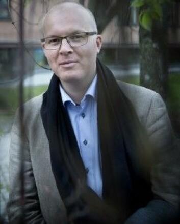 Henrik Holm er stipendiat ved Norges musikkhøgskole. (Foto: NMH)