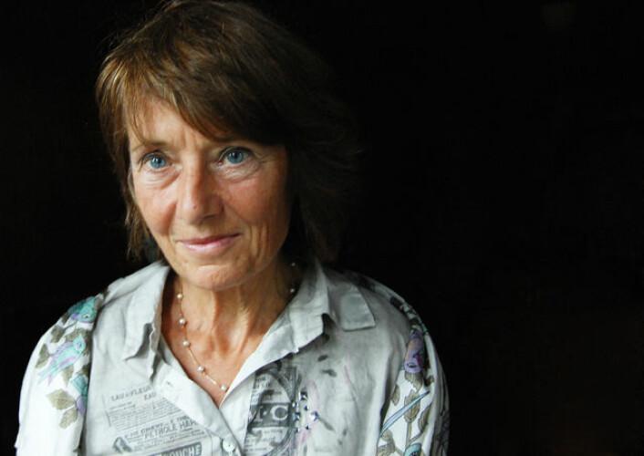 Cathrine Fabricius-Hansen er én av tre kvinner som har mottatt UiOs forskningspris. Hun fikk den for seks år siden. (Foto: Ola Sæther)