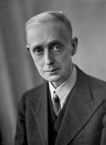 Portrett av Fartein Valen. (Foto: Nasjonalbiblioteket)