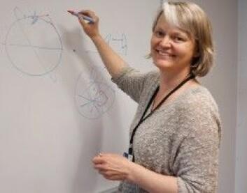 Forsker Irene Jensen i Sintef mener at Norge må se forretningsmulighetene som ligger i småsatellitteknologi. (Foto: Lisbet Jære)