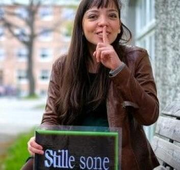 Olga Lehmann vil gjerne at vi skal være mer stille. (Foto: Steinar Leite/NTNU)