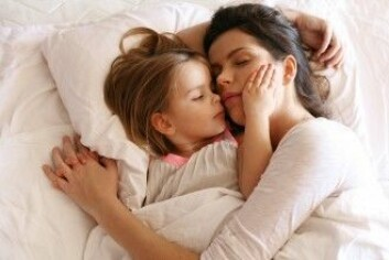 Selvrapportering kan være problematisk fordi foreldrene ikke nødvendigvis oppdager hvor ofte barna våkner. (Foto: Liderina / Shutterstock / NTB scanpix)
