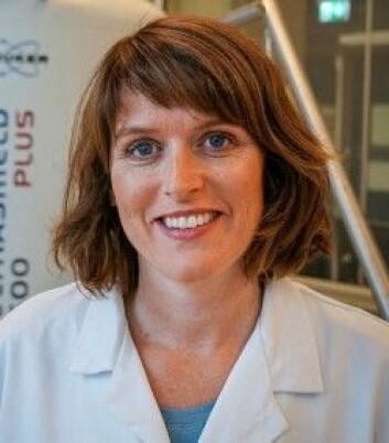 May-Britt Tessem er forsker ved Institutt for sirkulasjon og bildediagnostikk. (Foto: Geir Otto Johansen / St.Olav)