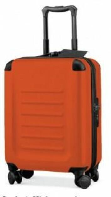 Denne kofferten virket større. Den ble foretrukket av deltakerne som skulle få plass til mest mulig klær. (Foto: JCR/Hagtvedt/Brasel)