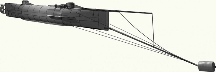 Torpedoen var rett og slett en tønne med krutt som kunne kjøres fast i skroget på fiendens skip. Og så gjaldt det å bakke som besatt for å komme unna før det smalt. (Foto: Michael Crisafulli, 2017)