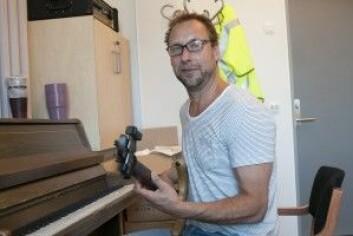 Boo Fredrik Sahlander er blitt en bedre elbassist etter to år med Gary Willis´ improvisasjonsmetodikk. (Foto: Atle Christiansen)