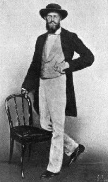 Alfred Russel Wallace i Singapore i 1862.