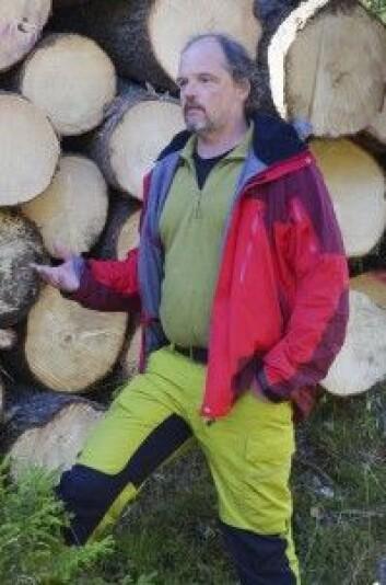 Skogkonsulent Atle Veddegjerde. (Foto: NIBIO)
