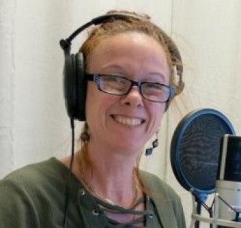 Susanne Schötz. (Foto: Lund Universitet)