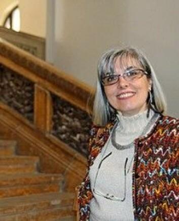 Ana-Maria Dubija er professor ved Ion Mincu-universitetet for arkitektur og byutvikling i Bucuresti. (Foto: Andreas Kjeldsberg Pihl/SIU)