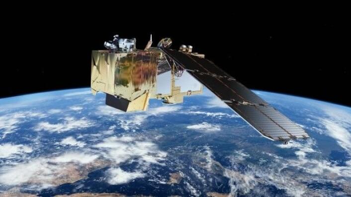Når Sentinel-satellittene har samlet inn data sendes de ned til bakkestasjoner i Italia, Spania og Norge. (Foto: ESA)