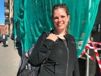 De polske bygningsarbeiderne som lærer seg norsk blir gull verdt for arbeidsgiverne, finner språkforskeren Kamilla Kraft. (Foto: Siw Ellen Jakobsen)