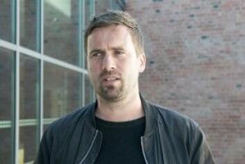 Doktorgradsstipendiat Daniel Nordgård disputerte nylig med en avhandling om digitalisering av musikkbransjen. (Foto: UiA)