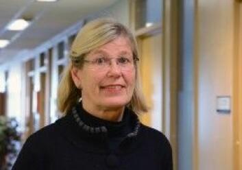 Anne-Sofie Helvik har forsket på bruken av medisiner i norske sykehjem. (Foto: Frøy Katrine Myrhol)