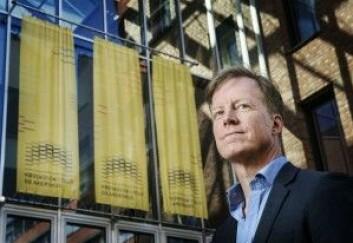 Curt Rice forventer at all forskningen som gjøres på Høgskolen i Oslo og Akershus skal kunne leses av alle. (Foto: Benjamin Ward/HiOA)