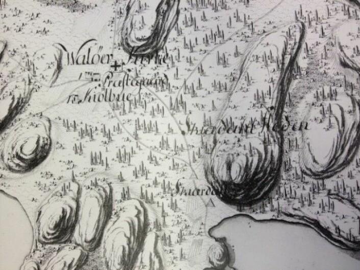 På et kart fra 1776 har Johann Theodor Wegener skrevet Walöer for Hvaler.