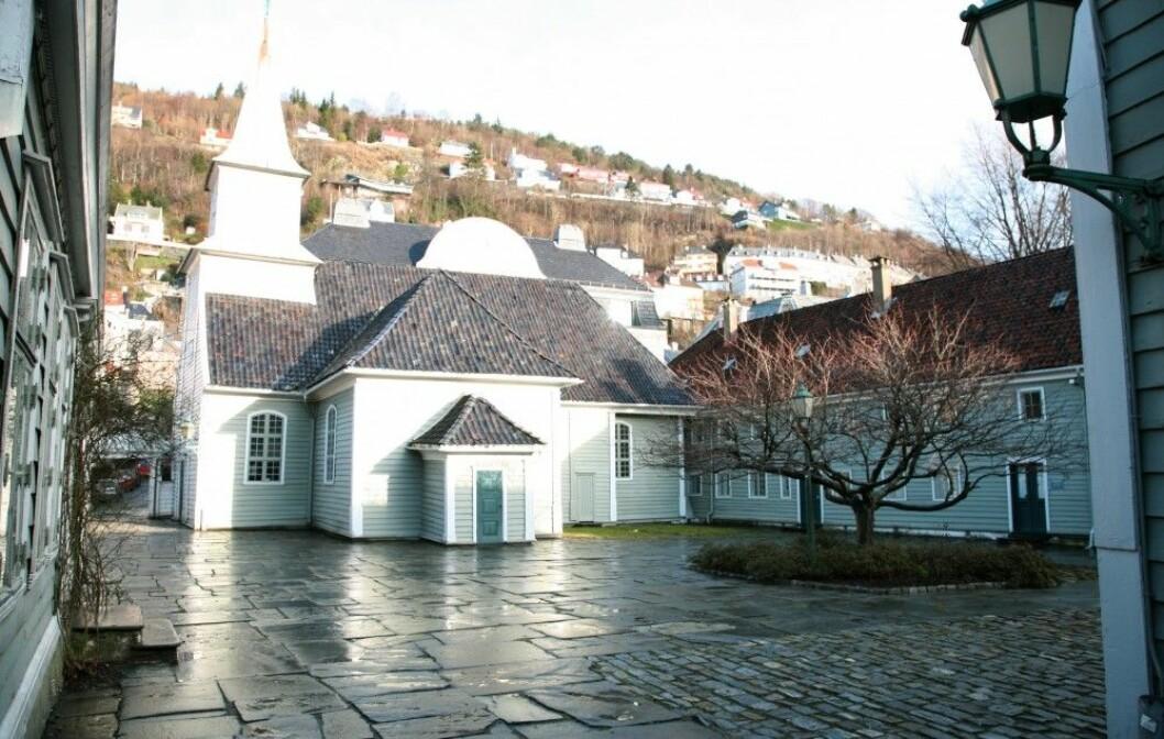 St. Jørgens hospital, i dag Lepramuseet i Bergen. (Foto: Nina Aldin Thune, Creative Commons Navngivelse-Del på samme vilkår 2.5 Generisk)