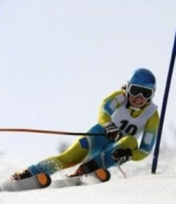 Når du fyker ned en fjellside i full fart, kan det værlig farlig å falle (Foto: iStockphoto)